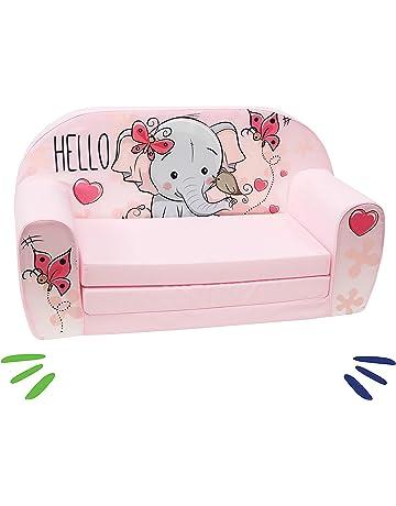 delsit Dt2 – 18239 sofá infantil, color rosa