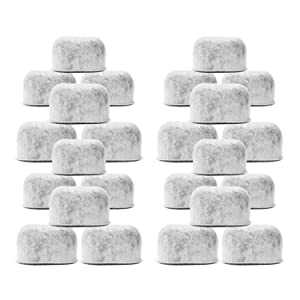 Pack of 24 Replacement Charcoal Water Filters for Cuisinart Coffee Machines By Housewares Solutions