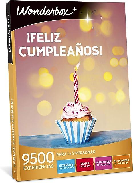 WONDERBOX Caja Regalo -¡Feliz CUMPLEAÑOS!- 9.500 experiencias para ...