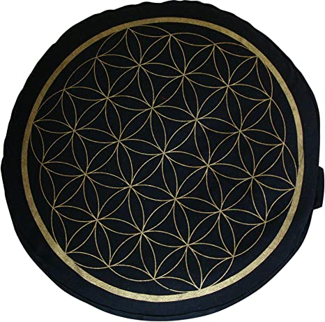 Cojín de Meditación de la Flor de la Vida Maylow