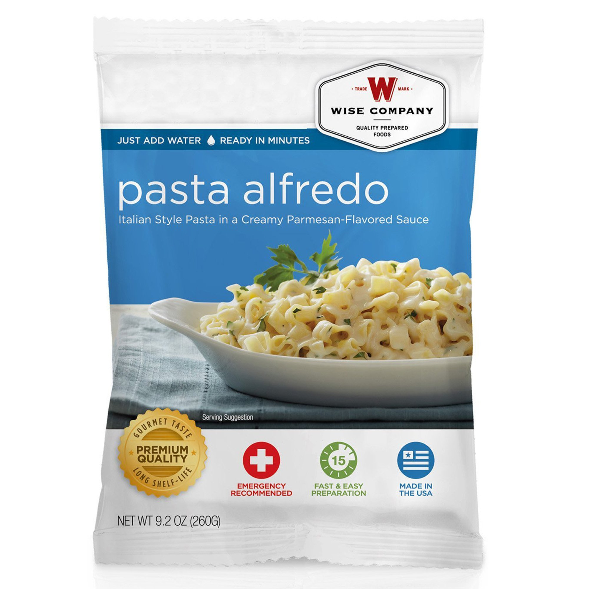 Wise Foods Side Dish Pasta Alfredo (4 Servings)