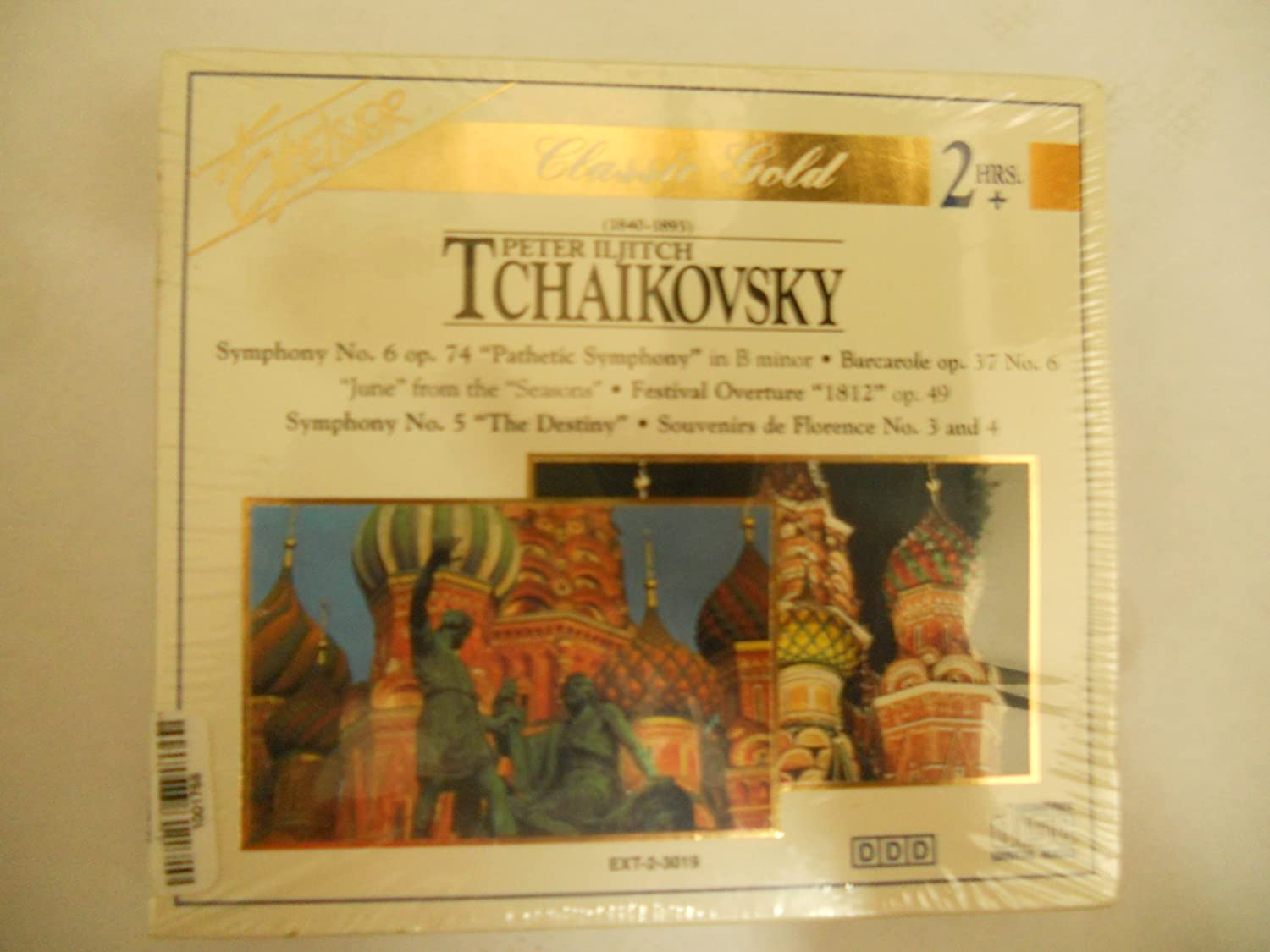 Peter Iljitch Tchaikovsky Challenge the lowest price of Japan ☆ Bombing free shipping box 2-disc