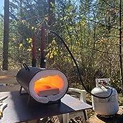 Amazon.com: Hells Forge - Quemador doble portátil de gran ...