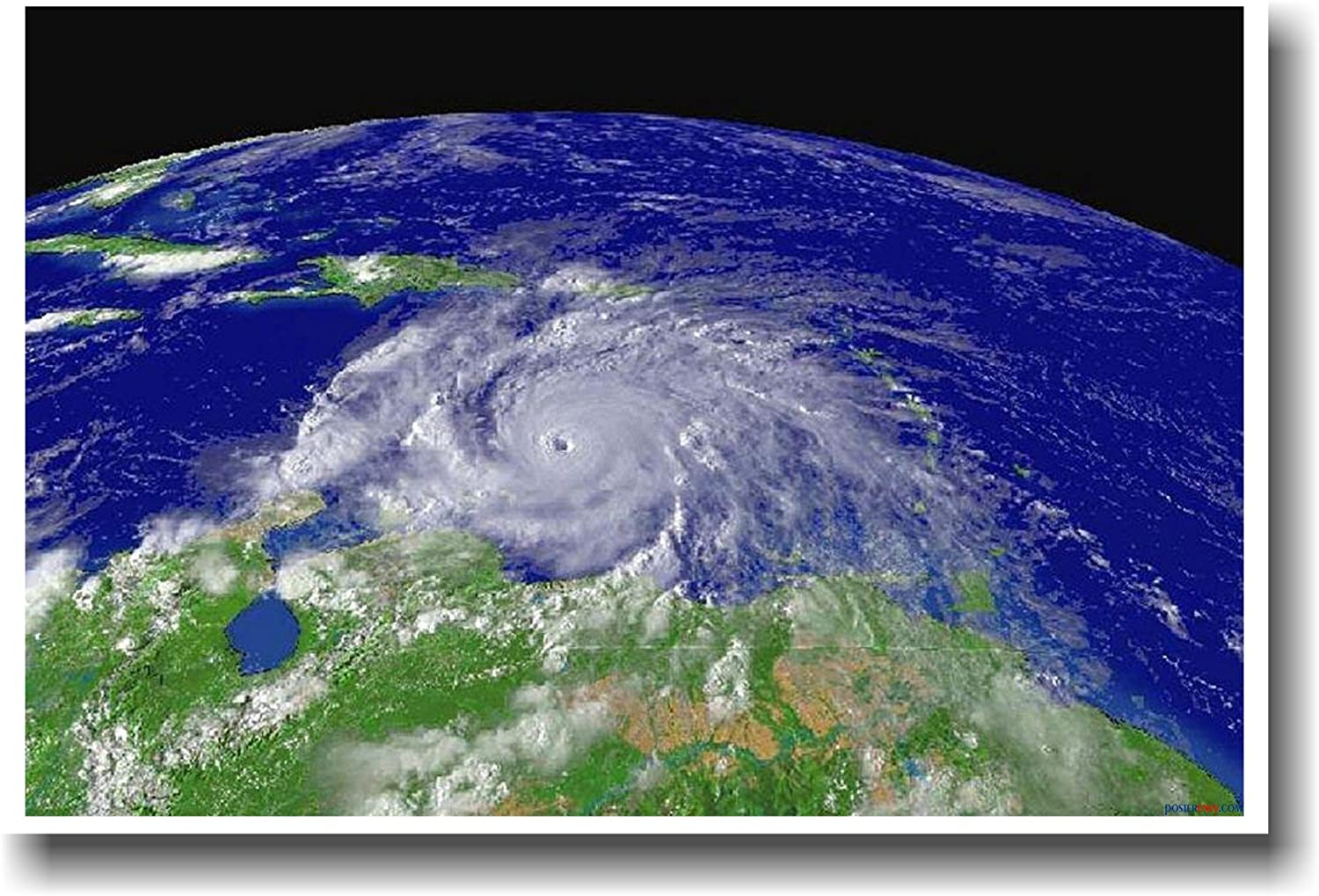 Hurricane Ivan From Space- Educational Classroom Science POSTER