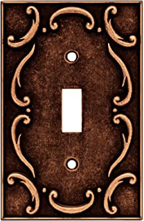 brainerd traditional french lace single toggle switch wall plate switch plate cover