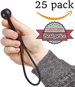 Cuerda elástica negra (múltiples cuerdas elásticas con bolas ...
