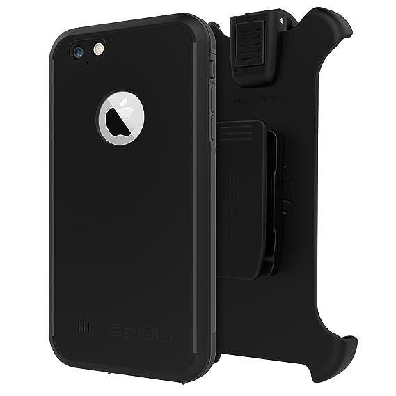 finest selection 8e7c1 43313 Amazon.com: Seidio OBEX Waterproof Case and Removable Belt-Clip ...