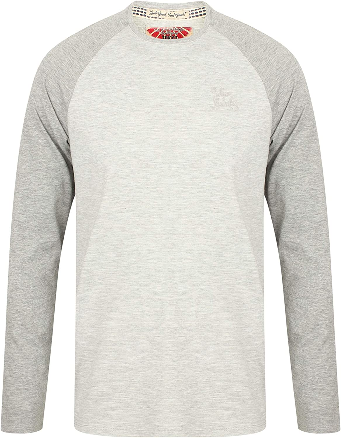 Tokyo Laundry Mens Long Sleeved Jersey Top Harwood