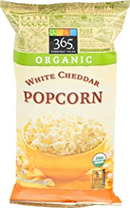 365 Everyday Value, Organic Popcorn, White Cheddar Cheese, 4 oz