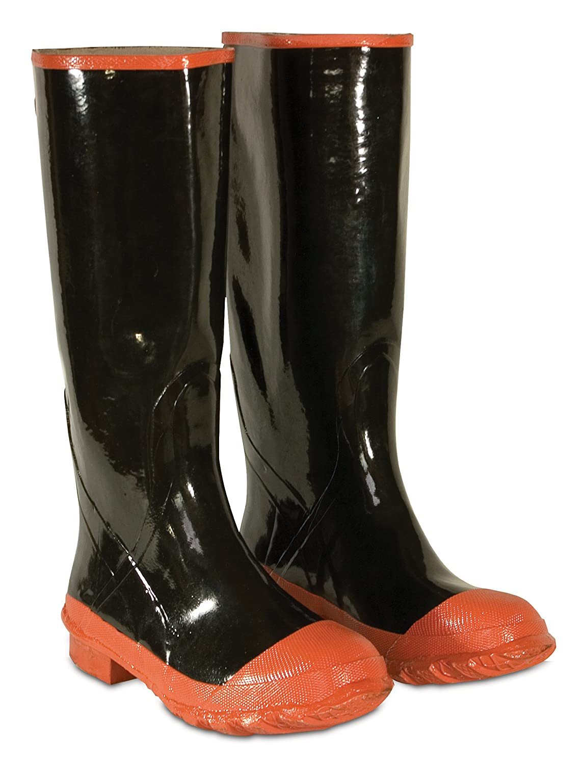 check out ce65c 46b14 CLC Custom Leathercraft Rain Wear R21016 Red Sole and Toe Rubber Boot, Size  16