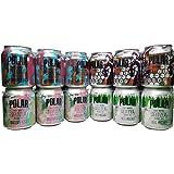 Polar Seltzer Impossibly Good 4 Flavor Sampler 12 pack 3 cans of Each Flavor