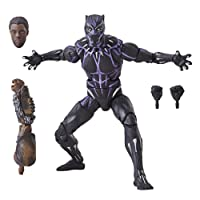 Marvel Figura Black Panther Vibranium, 6 Pulgadas