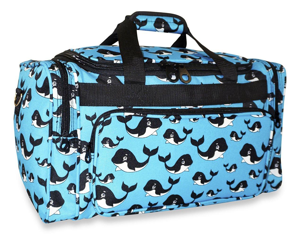 Ever Moda Whale Duffle Bag