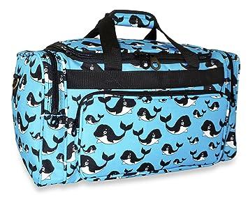 f10c5ebe79a4 Ever Moda Whale Duffle Bag