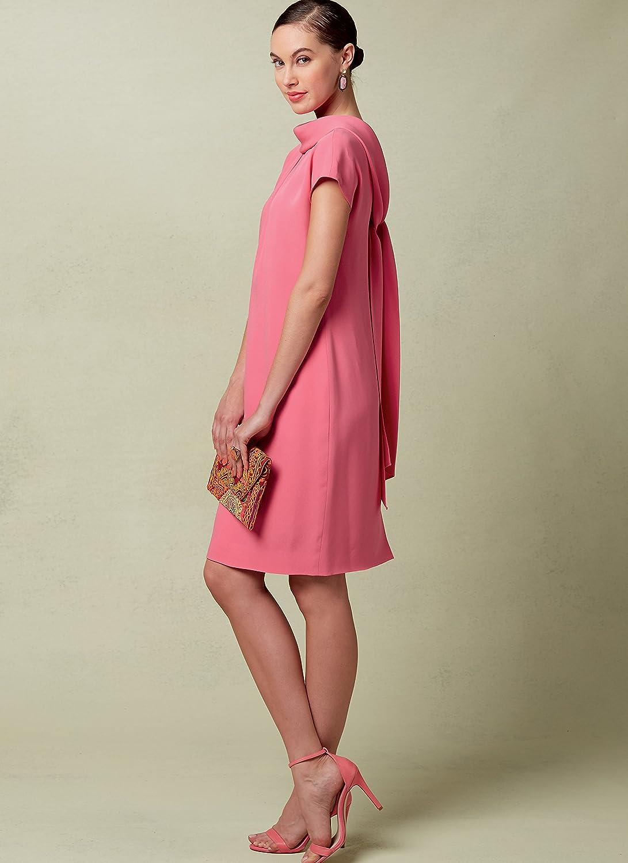 Multi-Colour Vogue Patterns 1544 E5,Misses Dress,Sizes 14-22 Tissue 20 x 0.5 x 25 cm