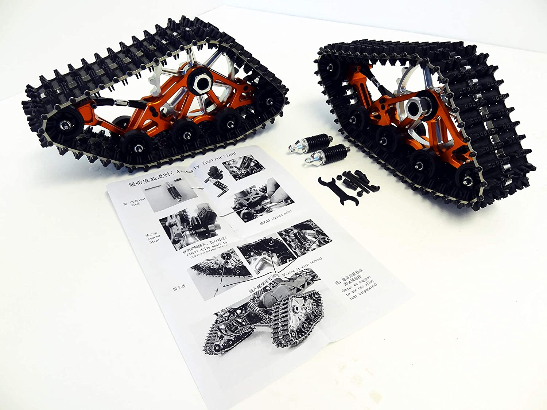 New Rovan Snow Crawler Catepillar Tracks Fits HPI Baja 5B SS 5T King Motor Buggy
