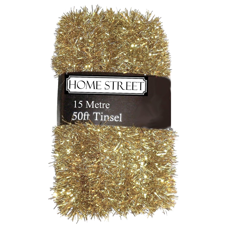 Homestreet® , decorazione natalizia lunga 15,24 metri Gold Homestreet®