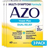 AZO Plus, from #1 Most Trusted Brand, 60 Tablets - 3 Pack, 180 total tablets