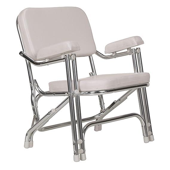 Amazon.com: Seachoice 78501 silla plegable de cubierta ...