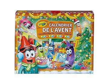 Calendrier De Lavent Jouet Fille.Crayola Calendrier De L Avent 04 6808 E 000