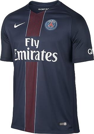 Nike PSG M SS Hm Stadium JSY - Camiseta Línea Paris Saint Germain para  Hombre  Amazon.es  Deportes y aire libre e414048c5a41d