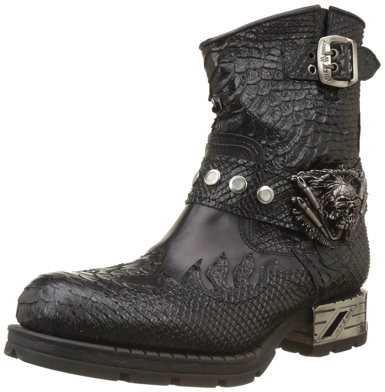 New Rock Herren M-mr041-s5 Cowboystiefel, schwarz