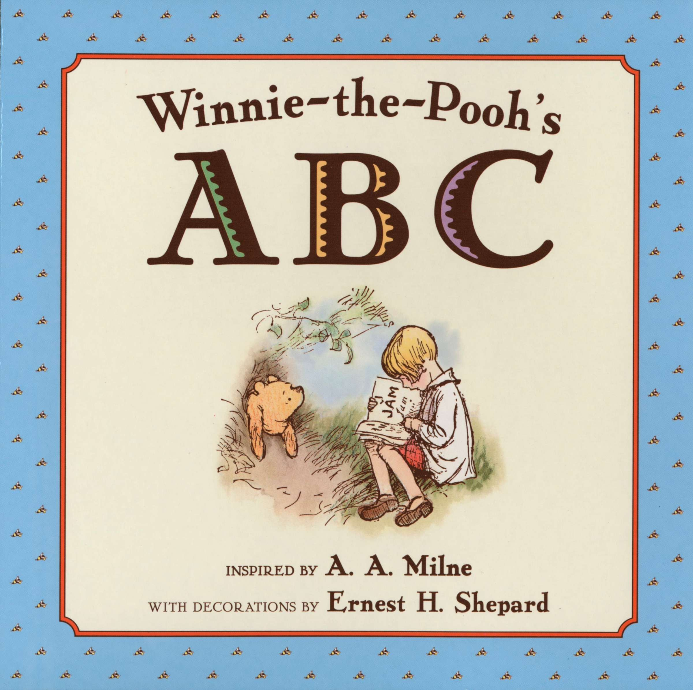 Image result for winnie the pooh alphabet book