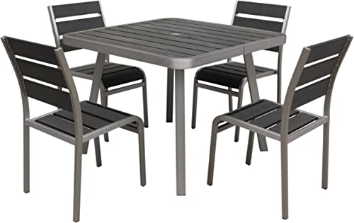 Boraam Polylumber 5-Piece Brava Dining Set