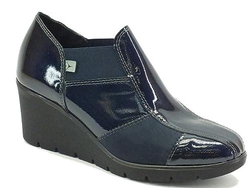 Cinzia Soft 1751h Blu - Mocasines de Piel para mujer azul Size: 35: Amazon.es: Zapatos y complementos