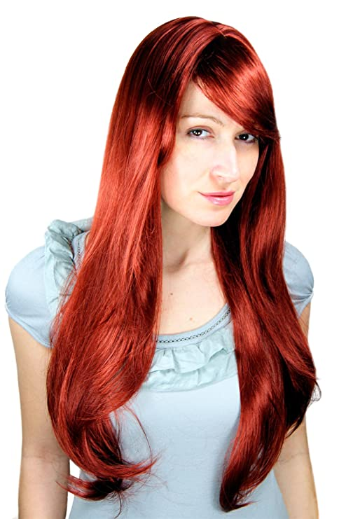 WIG ME UP - Perruque, Rousse, Longue, Sexy,