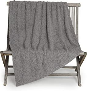 Barefoot Dreams Boucle Throw Blanket, Simple Home Décor, Grey