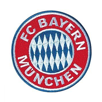 Mnchen Fc Bayern Munich Logo Patches Plus Free Bookmark I Love