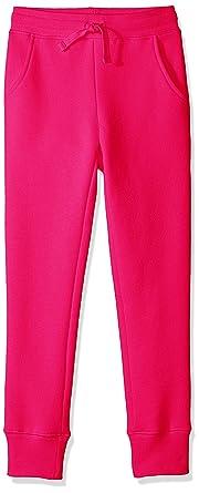 Amazon Essentials – Pantalón de chándal de forro polar para niña ...