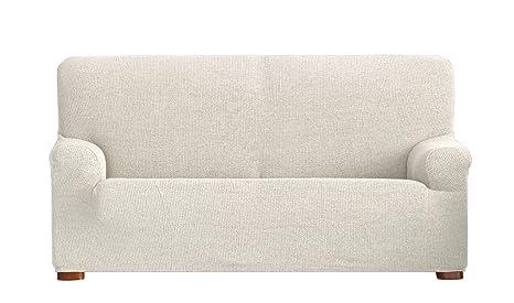 Eysa Dorian - Funda de sofá bielástica, 3 plazas, Color Crudo