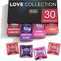 Durex - Preservativos Love Collection sabor fresa, dame