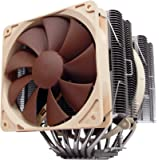 Noctua NH-D14, Premium CPU Cooler with Dual NF-P14 and NF-P12 Fans (Brown)