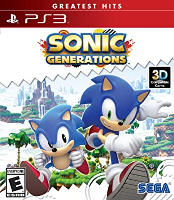 Sega Sonic Generations Ps3 Playstation 3 Video Juego Ps3