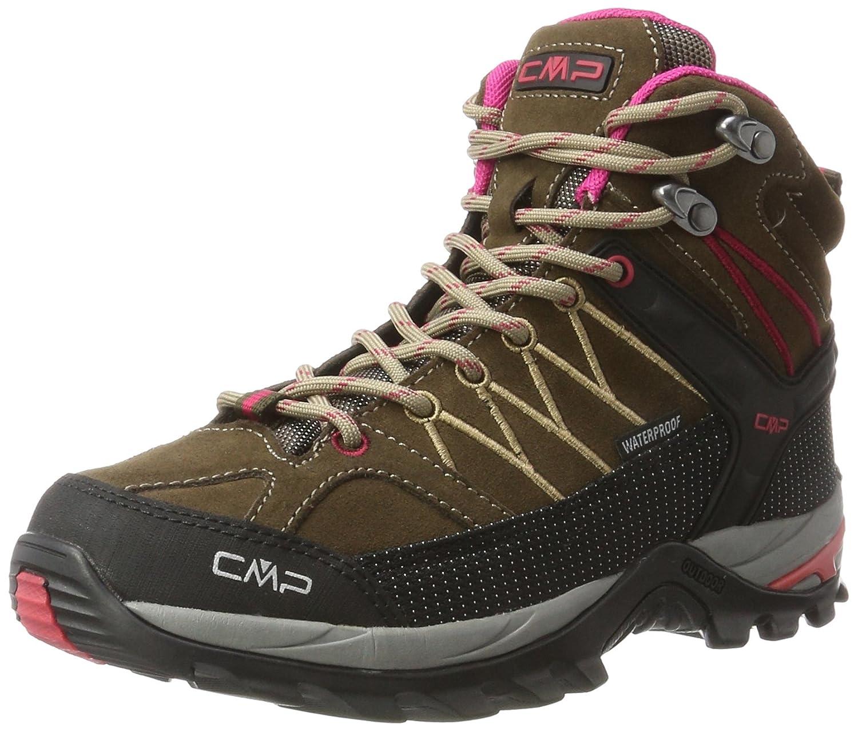 Marron (bois-magenta 81bd) 38 EU CMP Rigel Mid, Chaussures de Randonnée Hautes Femme