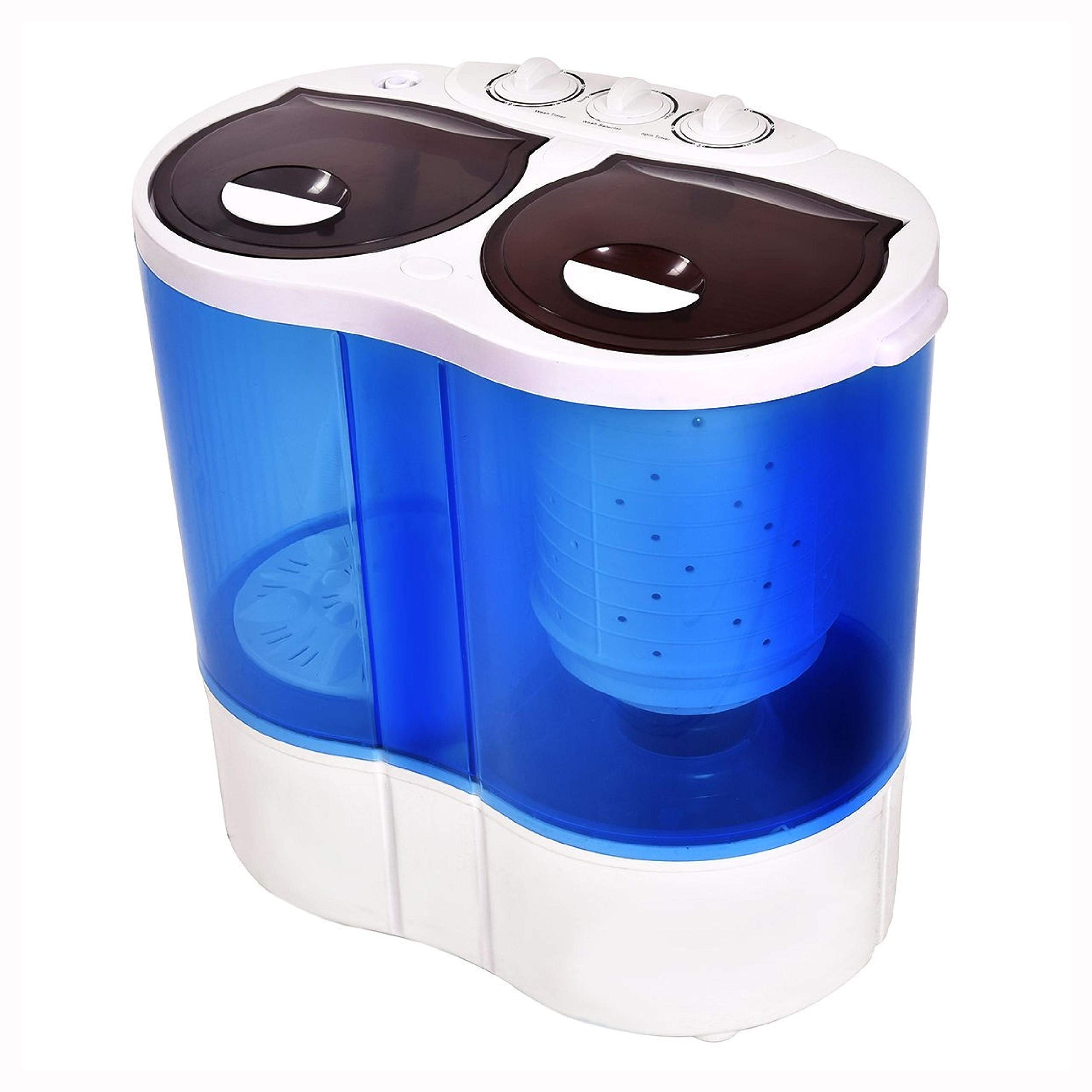 Washing Machine, 15 lbs Portable Compact Twin Tub Mini Washing Machine by HomyDelight (Image #6)