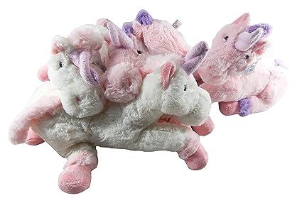 XXL Peluche un conjunto de cuerno, 4 unicornios a un precio, el mágica Animales