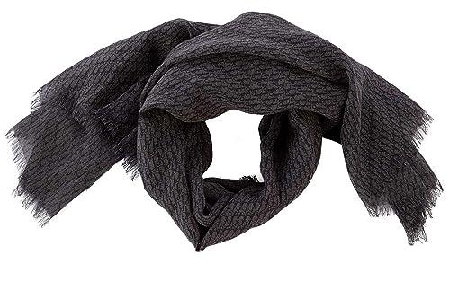 Dior bufanda de hombre en lana nuevo gris: Amazon.es ...