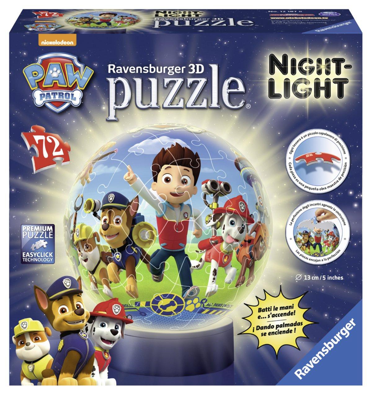 Paw Patrol Puzzle D lámpara nocturna Ravensburger
