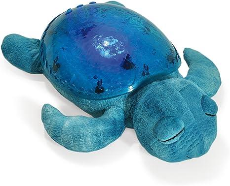 CLOUD B 8723540082368 Luz nocturna Tortuga, con luz y sonido, Azul ...