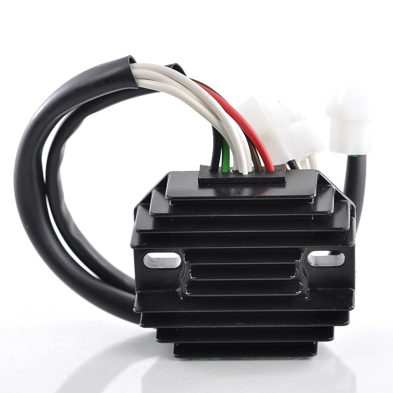 Voltage Regulator Rectifier For Yamaha XS1 / XS2 / TX 650 / XS 650 / XS 650 S 1970-1980 OEM Repl.# 256-81970-10-00 256-81970-11-00 447-81970-10-00 RMSTATOR