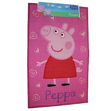 Incredible Official Peppa Pig Childrens Rug Mat Carpet Peppa Amazon Interior Design Ideas Tzicisoteloinfo