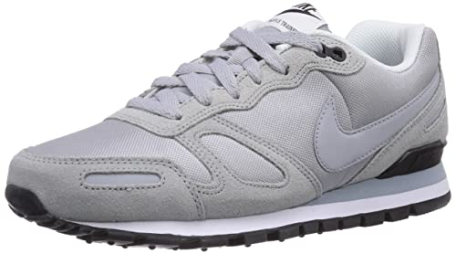 reputable site 55c1d ad090 Nike Air Waffle Trainer, Scarpe da Ginnastica Uomo, Grigio Wolf Grey-Blk-