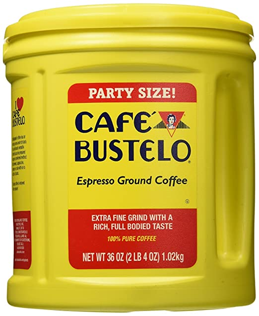 Keurig Cafe Bustelo Coffee Espresso K-Cups Cuban (18 count) (8 Packs): Amazon.com: Grocery & Gourmet Food