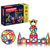 Magformers Smart Set (144-piece ), Deluxe Building Set. magnetic building blocks, educational magnetic tiles, magnetic…