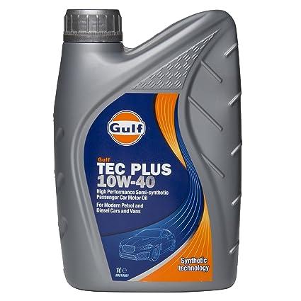 Aceite de motor semisintético Golfo Tec Plus 10W-40 de 4
