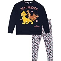 Disney Sudadera y Leggings para niñas The Lion King Rey León